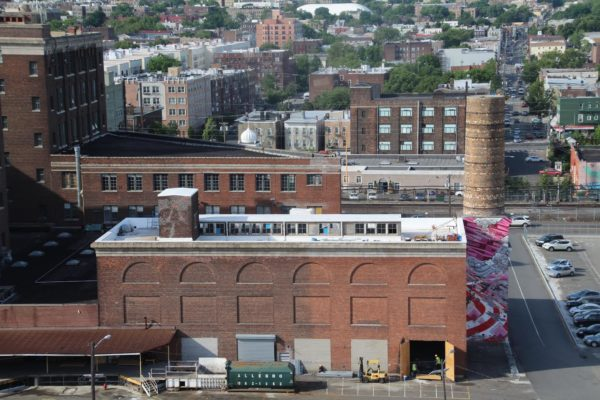 Jersey City Boiler Room Roof for Mana Contemporary