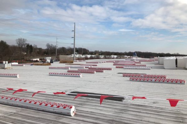 216,550 sq ft roof in Delaware